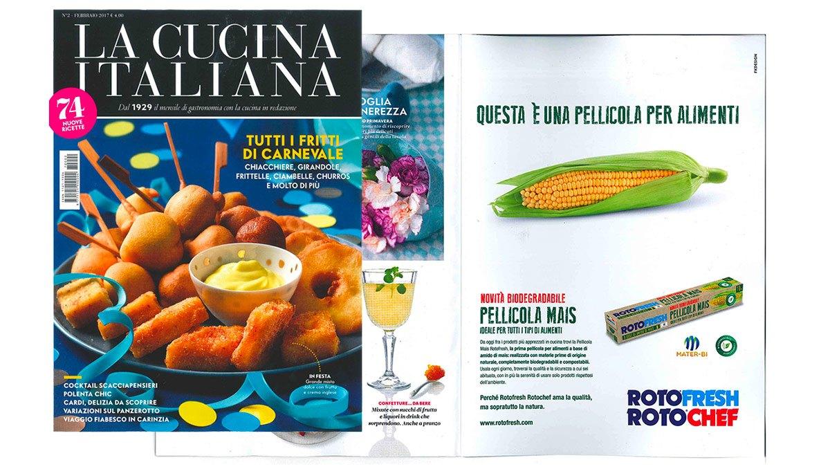 Rotochef rotofresh rotochef la cucina italiana for P cucina italiana